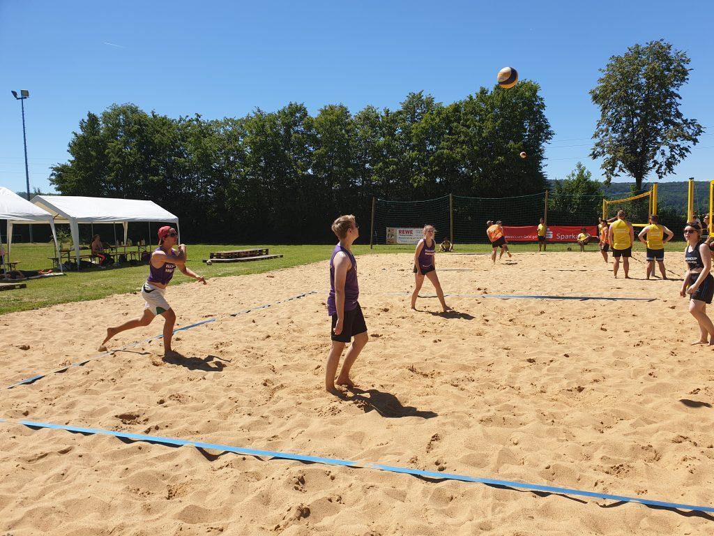 Eigener Aufschlag, Brüggen Beach-Cup 2019