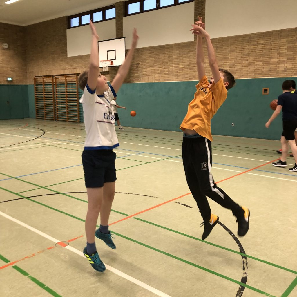 Basketball 2019 Sprungwurf