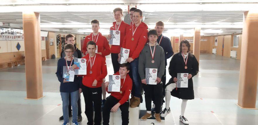 Bronze SVA-Team Degen Landesmeister 2019